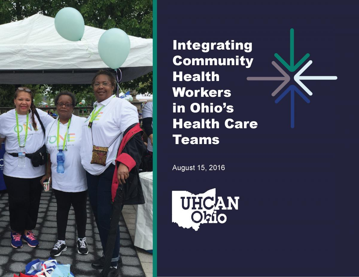 Integrating Community Health Workers in Ohio's Health Care Teams