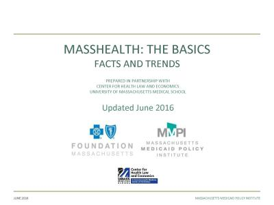 MassHealth: The Basics