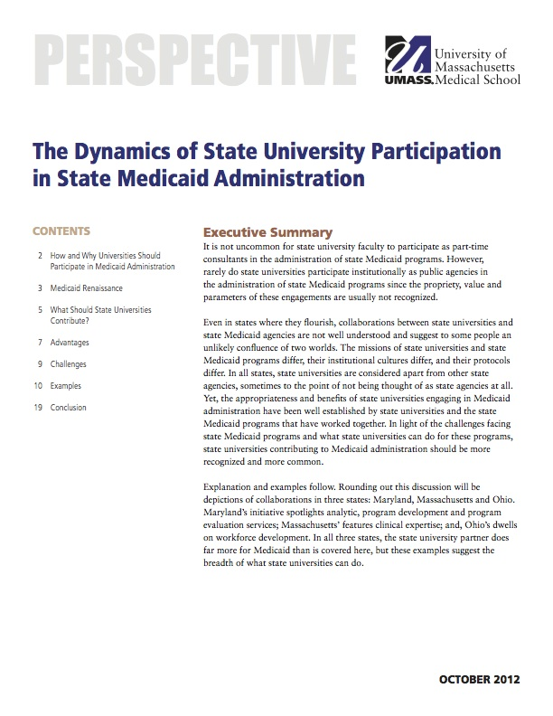 medicaid essays Medicaid program is the largest funded health insurance program for the poor and people with a disability in the united state of america (kaiser family foundation, 2002) eligibility criteria for the medicaid program.